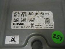 09-12 MERCEDES BENZ C300 ECU ENGINE COMPUTER CONTROL MODULE A2729000400 OEM OE