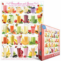 Smoothies & Juices 1000 PIECE JIGSAW PUZZLE EG60000591 - Eurographics