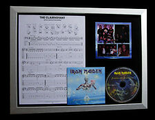 IRON MAIDEN Clairvoyant TOP QUALITY CD LTD FRAMED DISPLAY+EXPRESS GLOBAL SHIP