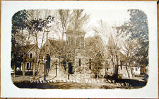 1910 Realphoto Postcard: Brethren Church - Falls City, Nebraska NE