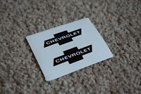 CHEVROLET Racing Motorsport Race Rally Car Race Decal Sticker Logo Black 100mm