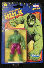 "Kenner Marvel Legends Retro The Incredible Hulk 3.75"" Action Figure New"