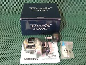 NEW SHIMANO TRANX 301 HG A Left Handle Baitcasting Reel *1-3 Days Fast Delivery*