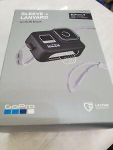 GoPro Silicone Sleeve and Adjustable Lanyard Kit for GoPro HERO8 - Black