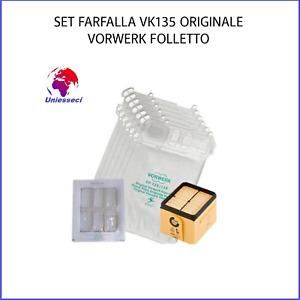 SET FARFALLA VK135/136 FOLLETTO VORWERK ORIGINALE NUOVO CONFEZIONATO