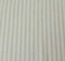 "20"" Slipper Roses Tanya Whelan FreeSpirit Simple Ticking Stripe Green Off-White"