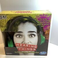 Hearing Things Game, Hasbro, Brand New