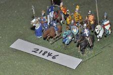 25mm Medievale/inglese-Men at arms 8 Fichi CAVALLERIA-CAV (21846)