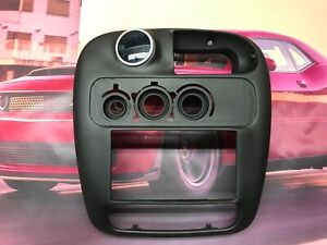 00 05 Dodge Neon Srt4 Dash Radio Trim Single Gauge Pod 52mm OCP
