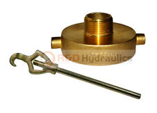 Fire Hydrant Adapter Combo 2 12 Nstf X 1 Nptm Withhydrant Wrench