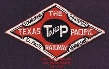 LMH Patch  TEXAS & PACIFIC Railway T&P TP Railroad MISSOURI MP MOPAC Lines Red b