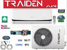 Mini Split AC System Ductless 12000 BTU (1 Ton) ONLY COLD 110V With Kit
