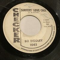 BO DIDDLEY: Surfer's Love Call / Greatest Lover In The World 45 Blues R&B 45 WOL