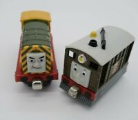Iron 'Arry & Toby  Thomas Friends Train Take N Play Along Trains Metal Diecast