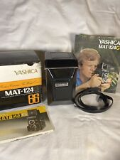Yashica Mat 124 G  Functional with accessories original case and Box