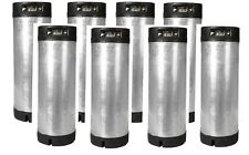 8 Pack 5 Gallon Ball Lock Kegs Reconditioned Homebrew Draft Beer O Ring Kit