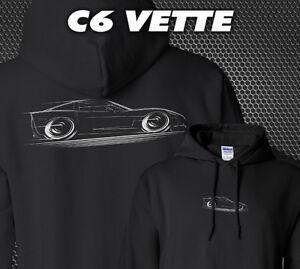 HOODIE C6 Corvette 2005 2006 2007 2008 2009 2010 2011 2012 2013 Chevy Z06