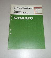 Werkstatthandbuch / Reparatur Volvo 360 Lenkhilfe / Servo-Lenkung - ab 1988