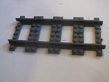 Lego 1 rail gris fonce droit set 79110 60050 7937 /1 dark bluish straight track