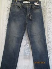 BURTONS JEANS, STRAIGHT FIT, SIZED 32 SHORT, BUT 34, BNWT