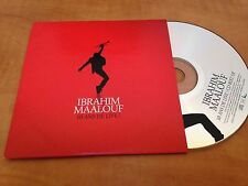 RARE FRENCH CARDSLEEVE CD PROMO 9T IBRAHIM MAALOUF 10 ANS DE LIVE