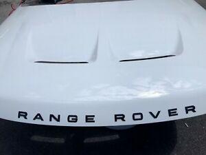 Range Rover sport svr hood 2018 2019 2020