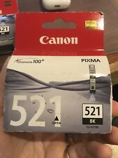 Genuine Canon Pixma Black 521 (CLI-521BK) cartridge