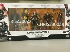 Hasbro Overwatch Ultimates Carbon Skins Action Figure 4-Pack Set Exclusive