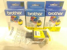 Brother Printer Ink 4 Pack Yellow LC41Y t1701