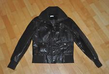 Mädchenjacke Jacke Lederimitat braun warm PIMKIE basic Größe:L