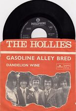 "THE HOLLIES GASOLINE ALLEY BRED RARE 1970 RECORD YUGOSLAVIA 7"" PS"