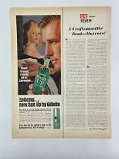 Gillette Sun Up After Shave Magazine Ad 10.75 x 13.75