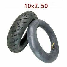10x2.50 E-Scooter Butylkautschuk  Ersatz Schlauch+Mantel 10 Zoll Reifen E-Roller