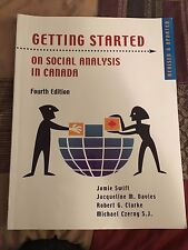 Getting Started on Social Analysis in Canada - Fourth edition