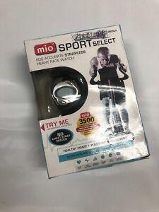 Mio Sport Select  Heart Rate Monitor NIB Box Has Wear