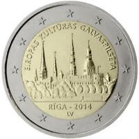 2 Euro Lettonia 2014 Riga