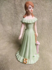 1982 Enesco Growing Up Birthday Girls Porcelain Figurine-15 Year Old