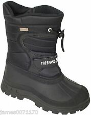 Unisex Adults Trespass Black Dodo Snow BOOTS Size UK 7 EU 41 & Boxed