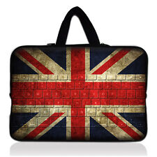 """UK Flag Netbook Laptop Carry Sleeve Case Bag For 13"""" 13.3"""" inch Macbook Pro /Air"""