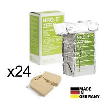 x24 Pack NEU NOTRATION NRG-5 ZERO Notverpflegung Notnahrung Sport VEGAN Outdoor