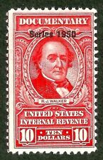 sc#R553 documentary revenue us/usa 1950 overprint stamp used
