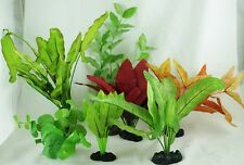 Aquarium Plants for Plastic Tank Silk COMBO A-3