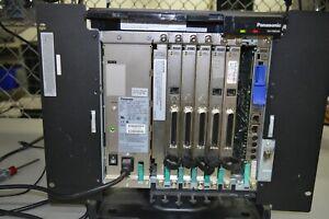 Panasonic KX-TDE100 Pure IP PBX Cabinet w/ IPCMPR, DHLC8, DLC16, LCOT8 Rack Mnt