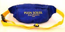 Jean d'Estrees Paris Fanny Pack Waist Bag Advertising Nylon Vintage Blue New