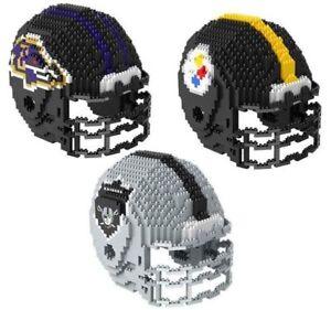 NFL Team Helmet Shaped BRXLZ 3-D Puzzle -Select- Team Below