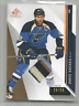 2014-15 UD SP Game Used Patch #27 David Backes 3 CLR Patch /99 St. Louis Blues