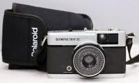 Olympus Trip 35...CLA'd/ Zuiko 40mm f/2.8 lens Perfect Working. NEW SEALS