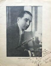 GENGENBACH (Ernest de) écrivain français (1904-1979)