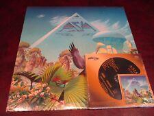 ASIA ALPHA AUDIO FIDELITY SACD HYBRID + ORIGINAL 1983 GEFFEN RECORDS VINYL SET