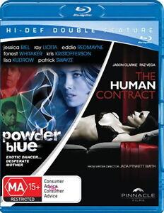 Powder Blue - The Human Contract - Drama / Thriller - Jessica Biel - NEW Blu-Ray
